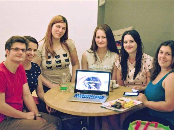 Schůzka dobrovolníků v Pelíšku