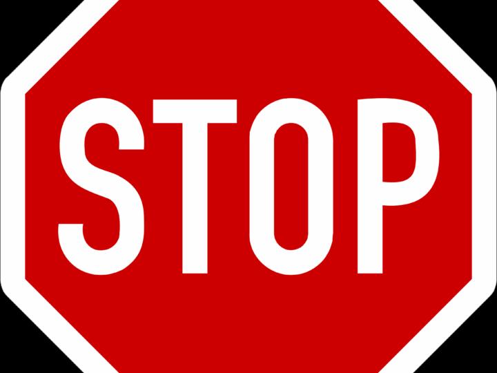 Stop stav